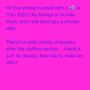 Other - CHECK OUT MY JEWELRY